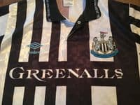 Old Football Shirts | 1990 Newcastle Vintage Soccer Jersey